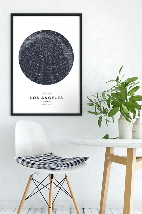 Custom Map Prints, Star Maps and Personalized Posters - Craft & Oak