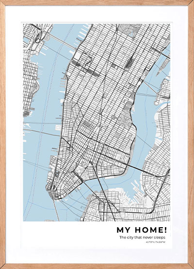 Custom Map Prints, Star Maps and Personalized Posters