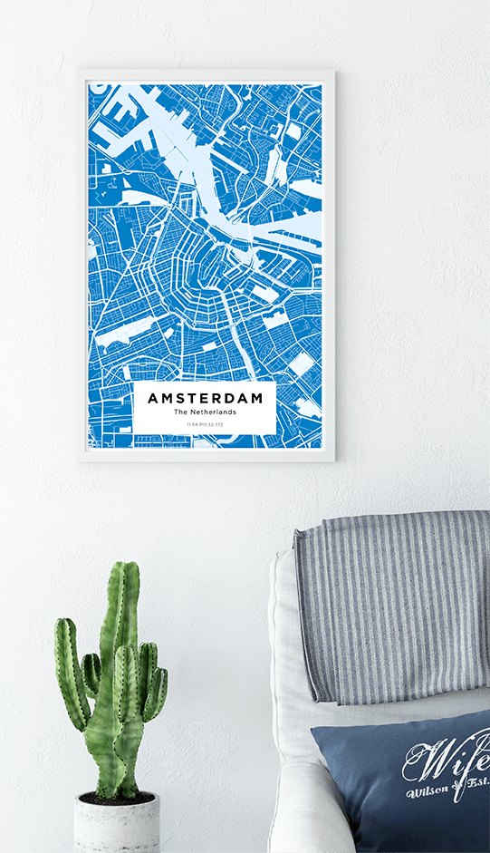 city map prints
