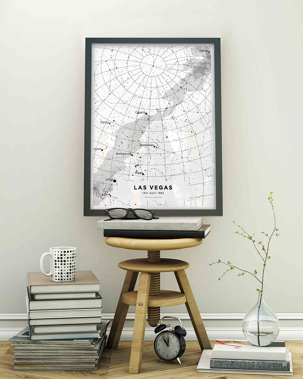 Customized Starmaps Print start at $55